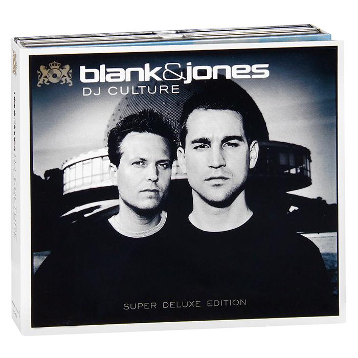 Blank & Jones. Dj Culture (3 CD) 2013 3 Audio CD