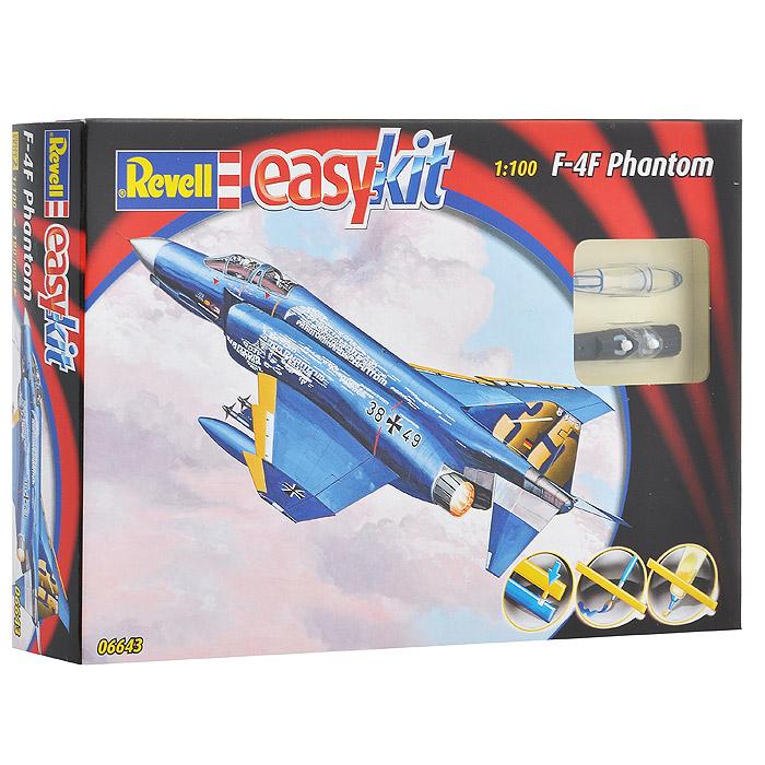 Сборная модель Боевой истребитель F-4F Phantom06643RСборная модель Боевой истребитель F-4F Phantom позволит вам и вашему ребенку собрать уменьшенную копию одноименного немецкого истребителя. Комплект включает в себя 29 пластиковых элементов для сборки модели и схематичную инструкцию. Для сборки этой модели клей и краски не нужны. Предварительно окрашенные детали оснащены пазами для легкого соединения. Процесс сборки развивает интеллектуальные способности, воображение и конструктивное мышление, а также прививает практические навыки работы со схемами и чертежами.