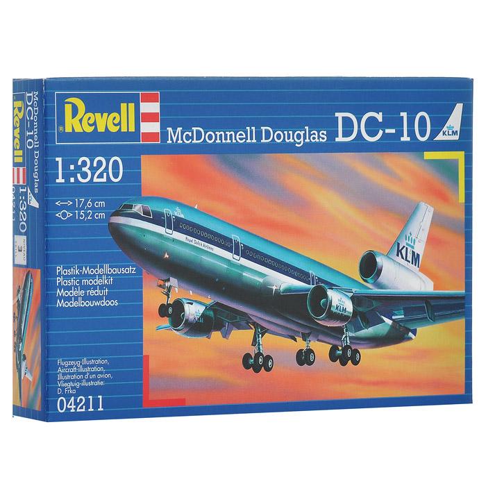 Сборная модель Самолет McDonnell Douglas DC-1004211RСборная модель Самолет McDonnell Douglas DC-10 позволит вам и вашему ребенку собрать уменьшенную копию одноименного американского самолета. Комплект включает в себя 42 пластиковых элемента для сборки модели и схематичную инструкцию по сборке. Процесс сборки развивает интеллектуальные способности, воображение и конструктивное мышление, а также прививает практические навыки работы со схемами и чертежами.
