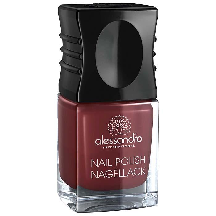 Alessandro Лак для ногтей Nagellack. Sophisticated Red, 10 мл