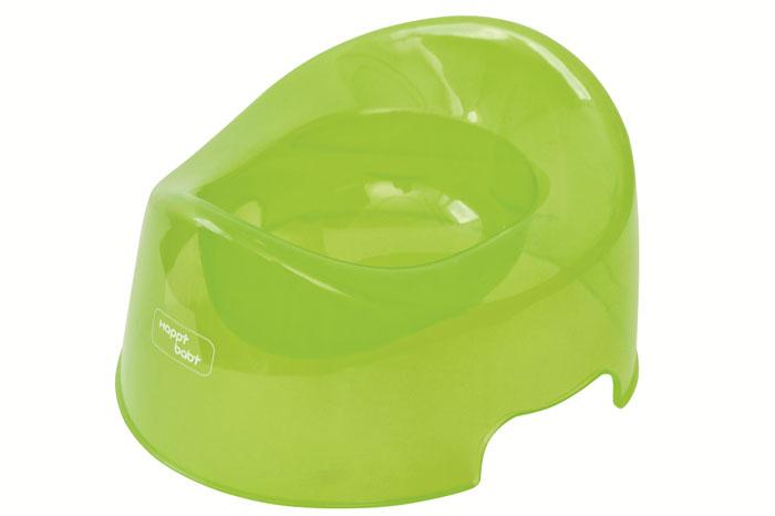 Горшок детский Happy Baby, цвет: салатовый34001/ 4690624007668 greenДетский горшок Happy Baby выполнен из полупрозрачного полипропилена салатового цвета. Анатомическая форма сиденья повторяет контуры тела ребенка, что обеспечивает ему максимальный комфорт. Высокий передний бортик не позволит вашему малышу упасть. Горшок очень легкий, имеет гладкую закругленную поверхность, которую легко мыть; его легко переносить. Детский горшок Happy Baby прекрасно подойдет для приучения ребенка к горшку и отказу от подгузников.