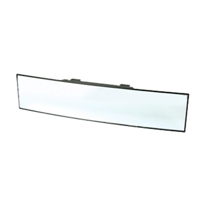 Зеркало внутрисалонное панорамное Koto, 30 смCKP-104Зеркало соответствует европейским стандартам. На обратной стороне зеркала находятся регулируемые крепежи, позволяющие надежно зафиксировать зеркало. Зеркало выполнено из высококачественных материалов, устраняет наложение и искажение вида. Зеркало не может быть установлено: Если высота более 78 мм или менее 57 мм. На имеющееся зеркало при отстутствии свободного пространства сверху (не менее 5 мм). В машинах с автоматическими зеркалами. Характеристики: Материал: стекло, пластик. Размер зеркала: 30 см х 7 см х 3 см. Размер упаковки: 38,5 см х 11 см х 3 см.