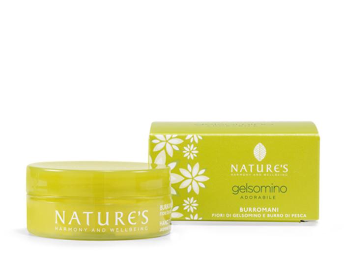 """Nature's Крем для рук """"Gelsomino"""", с жасмином и персиковым маслом, 50 мл"""
