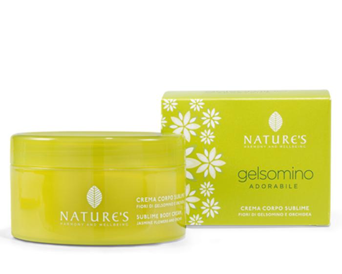 """Nature's Крем-премиум для тела """"Gelsomino"""", с жасмином и орхидеей, 200 мл"""