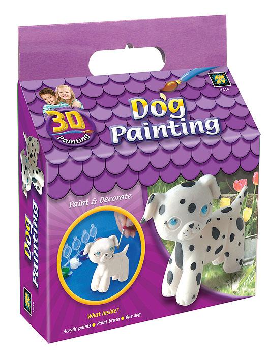 Набор для раскрашивания Amav Разрисуй щенка 3D1414В вашем доме растет маленький художник? Тогда ему стоит подарить набор для раскрашивания Amav Разрисуй щенка 3D. Входящие в набор краски позволят превратить обычную гипсовую фигурку в яркую игрушку в виде щенка. Благодаря набору ваш ребенок научится пространственно мыслить, различать цвета, творчески решать поставленные задачи. В набор входят: гипсовая фигурка щенка, краски, кисточка.
