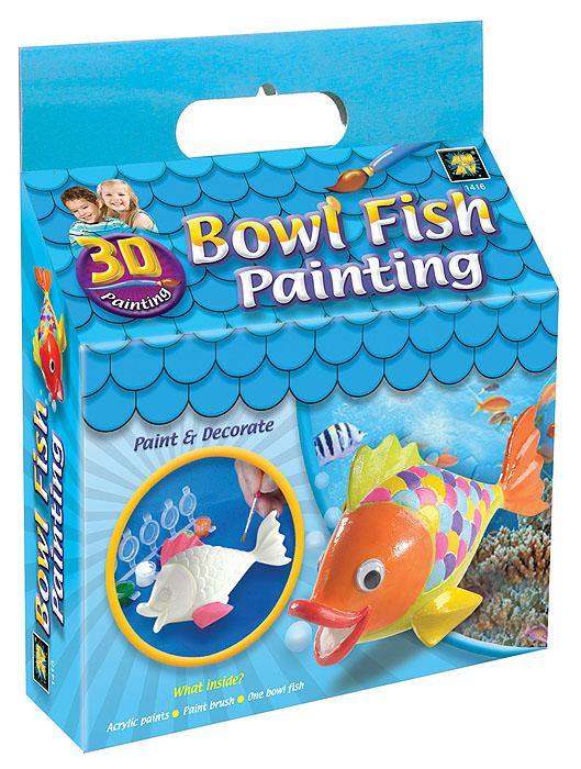 Набор для раскрашивания Amav Разрисуй рыбку 3D1416В вашем доме растет маленький художник? Тогда ему стоит подарить набор для раскрашивания Amav Разрисуй рыбку 3D. Входящие в набор краски позволят превратить обычную гипсовую фигурку в яркую игрушку в виде рыбки. Благодаря набору ваш ребенок научится пространственно мыслить, различать цвета, творчески решать поставленные задачи. В набор входят: гипсовая фигурка рыбки, краски, кисточка.