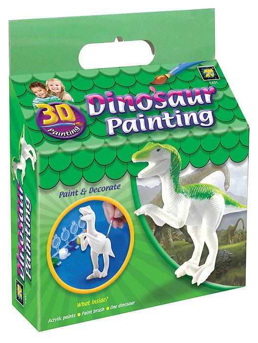 Набор для раскрашивания Amav Разрисуй динозавра 3D