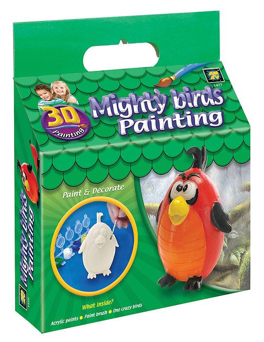 Набор для раскрашивания Amav Разрисуй попугая 3D