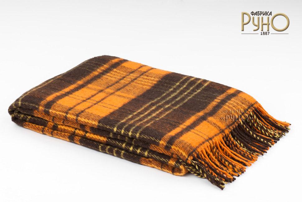 Плед Андо, цвет: коричневый, оранжевый, 170 х 200 см 1-224-170_081-224-170_08Теплый и уютный плед с кисточками Андо выполнен из натуральной новозеландской овечьей шерсти и оформлен ярким рисунком в мелкую клетку. Под шерстяным пледом вам никогда не станет жарко или холодно, он помогает поддерживать постоянную температуру тела. Шерсть обладает прекрасной воздухопроницаемостью, она поглощает и нейтрализует вредные вещества и славится своими целебными свойствами. Плед из шерсти станет лучшим лекарством для людей, страдающих ревматизмом, радикулитом, головными и мышечными болями, сердечно-сосудистыми заболеваниями и нарушениями кровообращения. Шерсть не электризуется. Она прочна, износостойка, долговечна. Наконец, шерсть просто приятна на ощупь, ее мягкость и фактура вызывают потрясающие тактильные ощущения! Пушистый и мягкий, такой плед идеально подойдет для дачного отдыха: он очень пригодится, как только захочется укутаться, дыша вечерним воздухом, выручит, если приехали гости, и всегда под рукой, когда придет в голову просто полежать на траве! А в...
