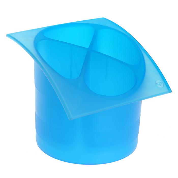 Подставка для столовых приборов Cosmoplast, диаметр 14 см2140Подставка для столовых приборов Cosmoplast, выполненная из высококачественного пластика, станет полезным приобретением для вашей кухни. Подставка имеет четыре отделения для разных видов столовых приборов. Дно отделений оснащено отверстиями. Подставка вставляется в поддон, предназначенный для стекания воды. Характеристики: Материал: пластик. Общий размер подставки: 15,5 см х 15,5 см х 14 см. Диаметр поддона: 14 см. Артикул: 2140. УВАЖАЕМЫЕ КЛИЕНТЫ! Товар поставляется в цветовом ассортименте. Поставка осуществляется в зависимости от наличия на складе.