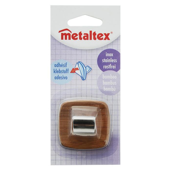 Крючок настенный Metaltex Бамбук, 5х5см29.47.12Настенный крючок Metaltex Бамбук изготовлен из натуральной древесины бамбука и стали с матовым покрытием. Он прекрасно подойдет для вашей ванной комнаты или кухни и не займет много места, надежно выдержав все, что вы на него повесите. Крючок крепится на стену с помощью липкой ленты, которая находится на задней стороне крючка. Характеристики: Материал: бамбук, сталь. Размер крючка: 4,5 см х 4,5 см х 3 см. Производитель: Италия. Изготовитель: Китай. Артикул: 29.47.12.