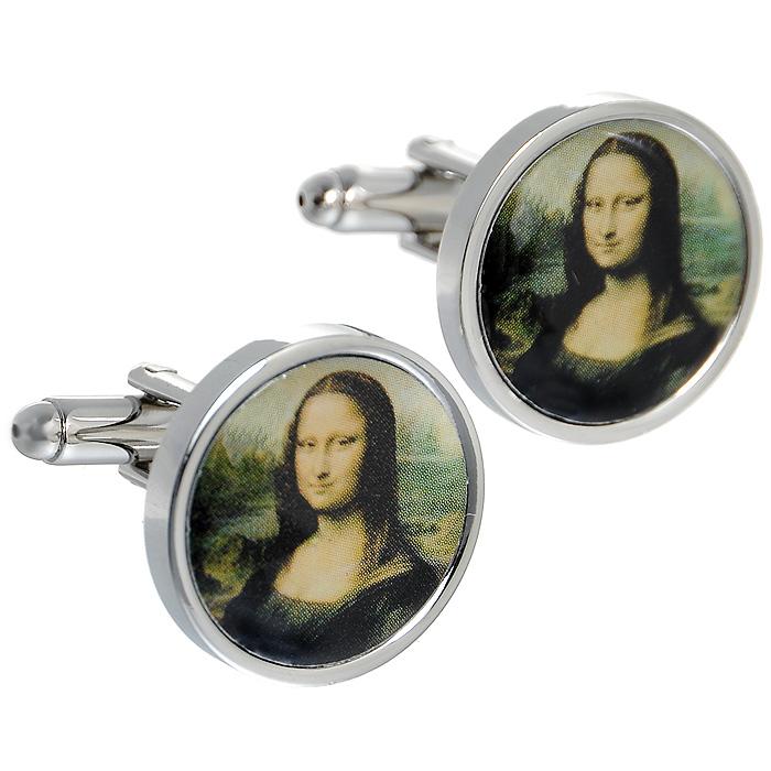 Запонки Мона Лиза. ZAP-065