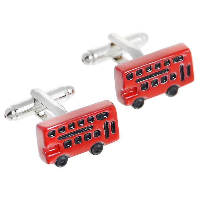 Запонки Double deck bus. ZAP-048ZAP-048Запонки Автобус изготовлены из серебряного металла и выполнены в виде красного автобуса. Такие запонки, непременно, станут объектом внимания. Мужские запонки великолепного дизайна будут отличным подарком для каждого. Запонки - символ мужской элегантности. Они являются неотъемлемой частью вечернего туалета. Выбирайте запонки в зависимости от вашего настроения, а также впечатления, которое вы хотите произвести на окружающих. Изделие упаковано в подарочную коробку. Характеристики: Материал: металл. Размер декоративной части запонки: 1,8 см x 1 см. Высота запонки: 2 см. Размер упаковки: 8 см x 3 см x 4 см. Артикул: ZAP-48.