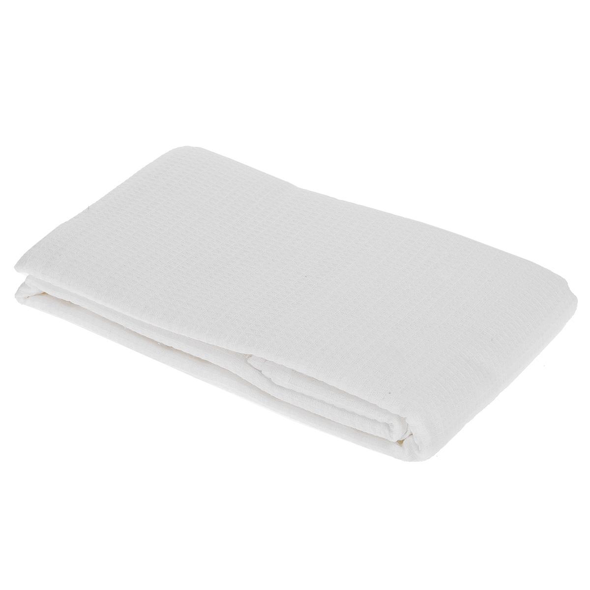 Полотенце-простыня для бани и сауны Банные штучки, цвет: белый, 80 см х 150 см32072Вафельное полотенце-простыня для бани и сауны Банные штучки изготовлено из натурального хлопка. В парилке можно лежать на нем, после душа вытираться, а во время отдыха использовать как удобную накидку. Такое полотенце-простыня идеально подойдет каждому любителю бани и сауны. Размер полотенца-простыни: 80 см х 150 см.