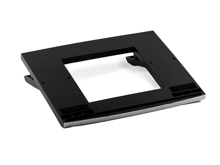 ProfiOffice подставка для ноутбука, цвет: черный, серебряный
