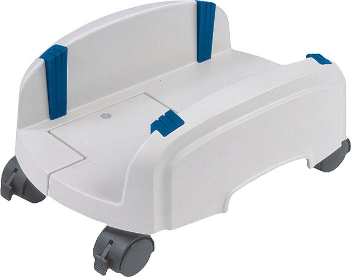 Подставка под системный блок ProfiOffice, цвет: светло-серый07142Подставка под системный блок ProfiOffice выполнена из прочного пластика и оснащена удобными колесиками, что позволяет без труда перемещать даже тяжелый системный блок. Подставка развижная, оборудована резиновыми фиксаторами, которые помогают надежно зафиксировать блок на подставке. Ширина захвата регулируется от 15,5 см до 25,5 см. Для предотвращения нежелательного перемещения на колесиках предусмотрен стопор. Компания ProfiOffice основана в Германии в 2000 году как общество с ограниченной ответственностью. Производит продукцию под одноименной торговой маркой. ProfiOffice идет в ногу со временем, предлагая своему клиенту оборудование, объединяющее традиционно немецкое качество и прогрессивные современные технологии, тем самым, выполняя миссию компании - сделать рабочее место как можно более эффективным. Широкий ассортимент, качество и надежность, длительная гарантия и грамотные консультации, полный комплекс услуг и товаров во многих магазинах мира,...