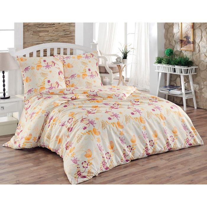 Комплект белья Sonna Марго (2-х спальный КПБ, бязь, наволочки 70х70), цвет: бежевыйS-8027_2-спальныйКомплект постельного белья Sonna Марго, изготовленный из бязи, поможет вам расслабиться и подарит спокойный сон. Комплект состоит из простыни, пододеяльника и двух наволочек. Предметы комплекта оформлены ярким цветочным принтом. Бязь - 100% хлопок, хлопчатобумажная ткань полотняного переплетения. Ткань прочная, мягкая, имеет внешний вид одинаковый с лицевой и изнаночной стороны. Обладает низкой сминаемостью, легко стирается и хорошо гладится. Инструкция по уходу: стирать в теплой воде при температуре не выше 40°С, химчистка запрещена, не отбеливать, гладить при средней температуре (до 150 °С), отжимать на центрифуге при низкой температуре.