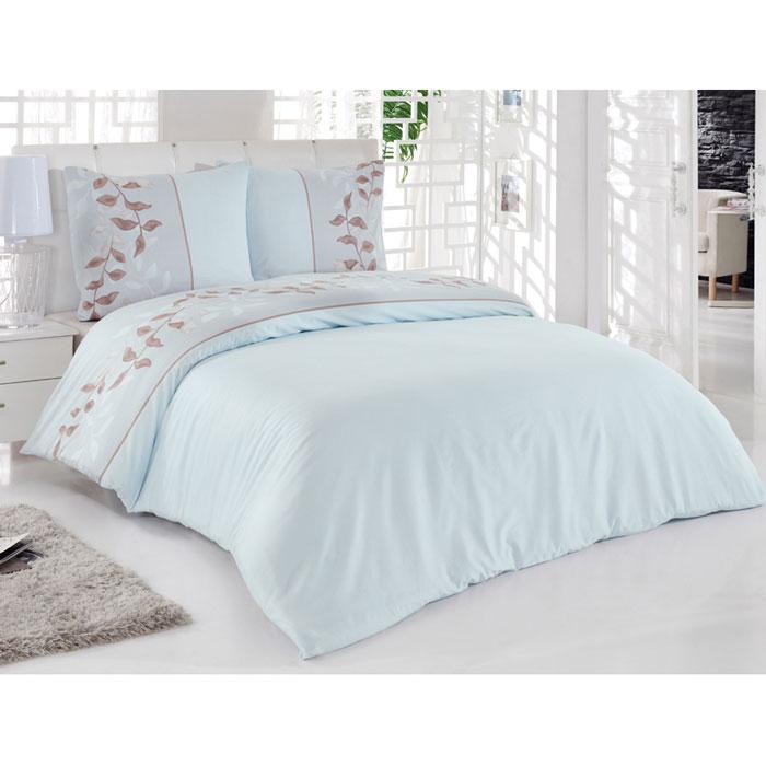 Комплект белья Tete-a-tete Тиамо (1,5 спальный КПБ, сатин, наволочки 70х70), цвет: светло-голубойТ-8013_1,5-спальныйКомплект постельного белья Тиамо является экологически безопасным для всей семьи, так как выполнен из натурального хлопка. Комплект состоит из пододеяльника, простыни и двух наволочек. Постельное белье оформлено оригинальным рисунком и имеет изысканный внешний вид. Сатин - производится из высших сортов хлопка, а своим блеском, легкостью и на ощупь напоминает шелк. Такая ткань рассчитана на 200 стирок и более. Постельное белье из сатина превращает жаркие летние ночи в прохладные и освежающие, а холодные зимние - в теплые и согревающие. Благодаря натуральному хлопку, комплект постельного белья из сатина приобретает способность пропускать воздух, давая возможность телу дышать. Одно из преимуществ материала в том, что он практически не мнется и ваша спальня всегда будет аккуратной и нарядной. Характеристики: Производитель: Турция. Материал: сатин (100% хлопок). Размер упаковки: 28 см х 36,5 см х 6,5 см. В комплект входят: Пододеяльник -...