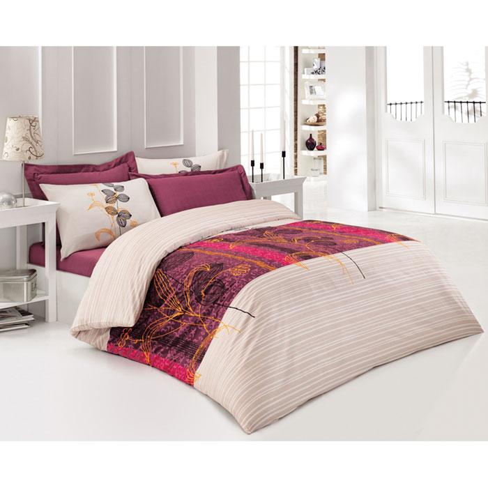 Комплект белья Tete-a-tete Кармин (1,5 спальный КПБ, сатин премиум, наволочки 70х70), цвет: бордовый. Т-0038-01Т-0038-01_1,5-спальныйКомплект постельного белья Кармин  является экологически безопасным для всей семьи, так как выполнен из натурального хлопка. Комплект состоит из пододеяльника, простыни и двух наволочек. Постельное белье оформлено оригинальным рисунком и имеет изысканный внешний вид. Все предметы комплекта цельнокроеные. Вас поразит необыкновенная тонкость, почти воздушная легкость и невероятная шелковистость этой специальной ткани, которая еще усилится после стирки. Ненавязчивые цвета хорошо примут наложение любого другого оттенка, при любом освещении. Ваша постель будет выглядеть безупречно. Наволочки имеют клапан без пуговиц и молнии. Пододеяльник имеет молнию на нижнем конце. Молния имеет фиксаторы, не позволяющие расстегиваться ей до самого конца, а сама она очень прочная и состоит из одной эргономичной детали, что не позволит ей сломаться легко. Сатин - производится из высших сортов хлопка, а своим блеском, легкостью и на ощупь напоминает шелк. Такая ткань рассчитана на 200...
