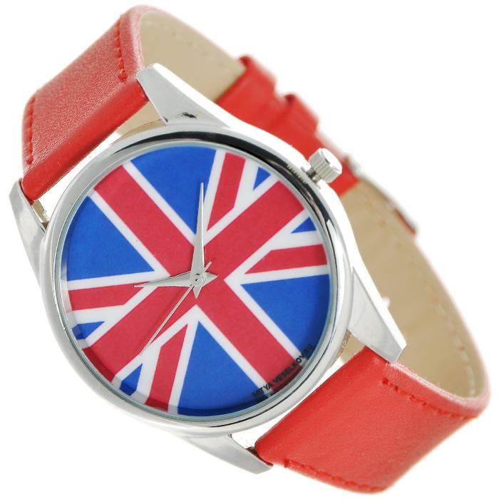 Zakazat.ru: Часы Mitya Veselkov Британский флаг (красный). Color-20
