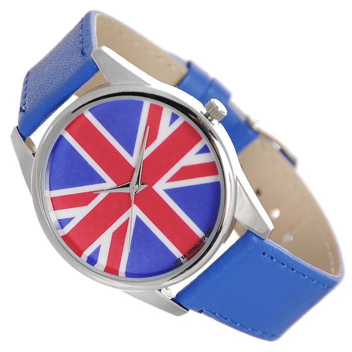 Zakazat.ru Часы Mitya Veselkov Британский флаг (ультра-синий). Color-06