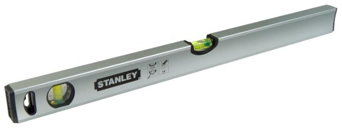 Уровень Stanley Classic, 3 капсулы, 150 см1-43-115Профессиональный строительный уровень Stanley используется при необходимости контроля горизонтальных и вертикальных плоскостей. Усиленный, противоударный, магнитный алюминиевый корпус уровня облегчает с ним работу.