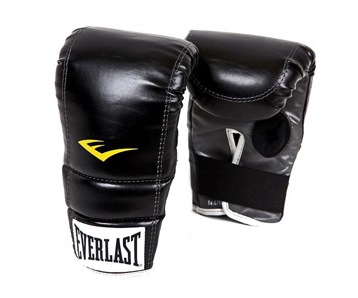 Перчатки снарядные Everlast Advanced. Размер S/M4315SMUБоксерские снарядные перчатки для активных тренировок. Дизайн без большого пальца облегчает вес перчаток, а пенный уплотнитель на ладони обеспечивает дополнительную защиту во время упражнений.