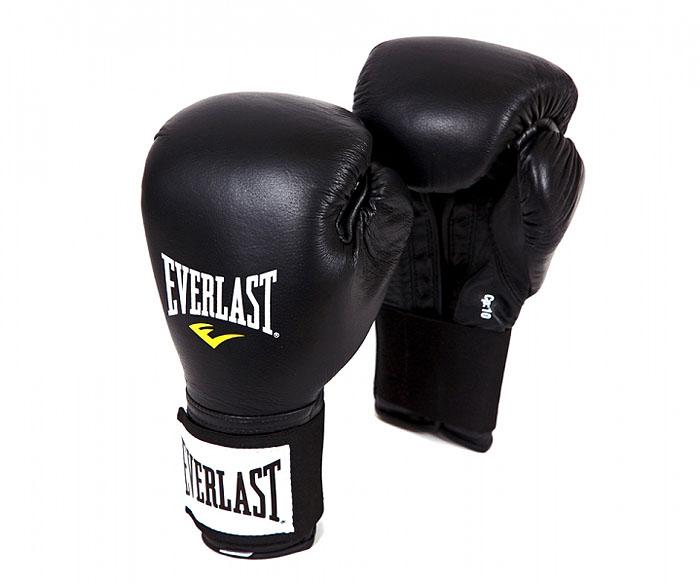 Перчатки тренировочные Everlast Pro, 14 унций, цвет: черный141401UТренировочные боксерские перчатки Everlast Pro. Вспененный материал амортизирует удары и защищает суставы пальцев во время тренировок. Мелкие отверстия по всей площади ладони обеспечивают дыхание и комфорт руки, в то время когда вы тренируетесь.
