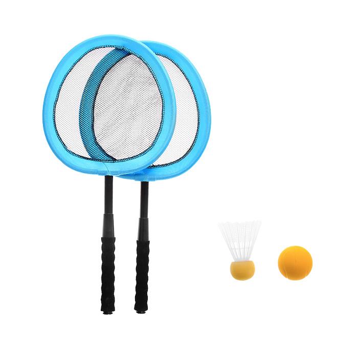 """Zhiyu Toys Набор для игры в теннис, бадминтон """"Racket Set"""", 4 предмета"""