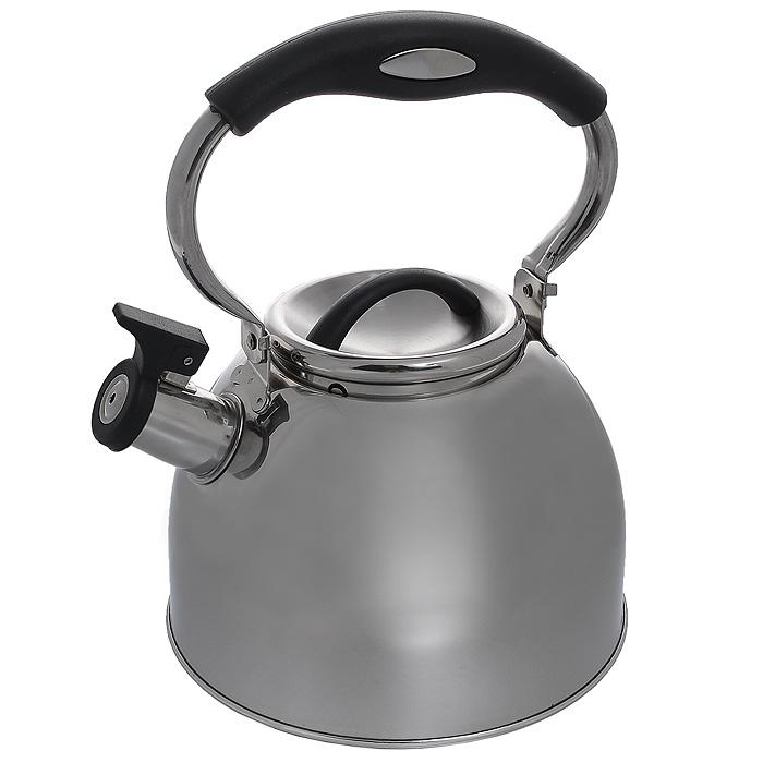 Чайник Mayer & Boch со свистком, 3 лМВ-21426Чайник Mayer & Boch изготовлен из высококачественной нержавеющей стали. Гладкая и ровная поверхность существенно облегчает уход. Выполненный из качественных материалов чайник при кипячении сохраняет все полезные свойства воды. Специальное дно позволяет сохранять тепло и равномерно распространять его по всей поверхности чайника. Чайник оснащен пластиковой удобной ручкой, а носик чайника с насадкой-свистком позволит вам контролировать процесс подогрева или кипячения воды. Можно использовать на всех видах плит, включая индукционные. Можно мыть в посудомоечной машине. Характеристики: Материал: сталь, пластик. Цвет: серебристый. Объем: 3 л. Диаметр основания чайника: 19 см. Высота чайника (с учетом ручки): 27 см. Высота чайника (без учета ручки): 15 см. Размер упаковки: 20 см х 20 см х 17 см. Артикул: МВ-21426.