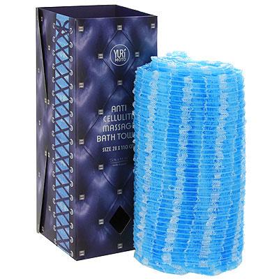 Satico Мочалка для антицеллюлитного массажа, жесткая, цвет: голубой34441Мочалка Satico предназначена для глубокого очищения кожи и борьбы с целлюлитом. Ее уникальное волокно адсорбирует любые загрязнения и отшелушивает ороговевшие частицы эпидермиса, обновляя и омолаживая кожу. Структура волокна мочалки позволяет осуществлять антицеллюлитный массаж, стимулируя кровообращение в проблемных зонах и способствуя расщеплению липидов. Регулярный массаж при помощи этой мочалки является эффективным способом борьбы с целлюлитом. Благодаря особой технологии плетения нитей мочалка обеспечивает густую пену при использовании минимального количества моющих средств. Мочалку легко мыть, она моментально сохнет и занимает мало места, благодаря чему идеальна для дороги.