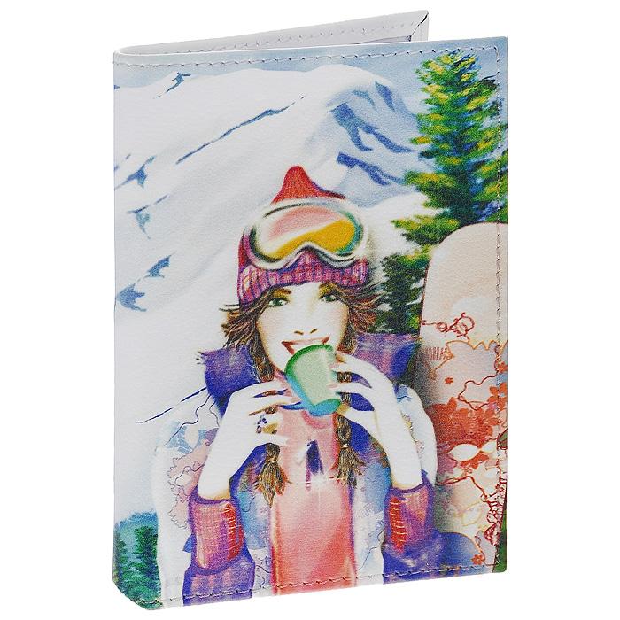 Визитница Perfecto Snowbord. VZ-GL-0036VZ-GL-0036Стильная вертикальная визитница Snowbord выполнена из натуральной кожи и оформлена изображением девушки-сноубордистки. Внутри содержится блок из прозрачного пластика на 18 визиток. Визитница Snowbord - это не только практичная вещь для хранения пластиковых карт, но и модный аксессуар, который понравится каждой девушке.
