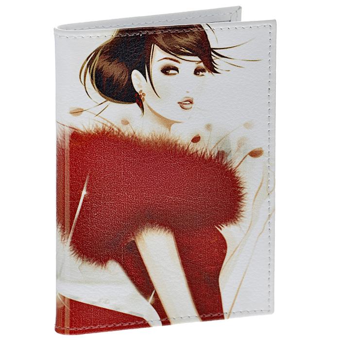 Визитница Perfecto Lady in Red. VZ-GL-0027VZ-GL-0027Стильная вертикальная визитница Lady in Red выполнена из натуральной кожи с изображением девушки в красном. Внутри содержится блок из прозрачного пластика на 36 визиток. Визитница Lady in Red - это не только практичная вещь для хранения пластиковых карт, но и модный аксессуар, который понравится каждой девушке.