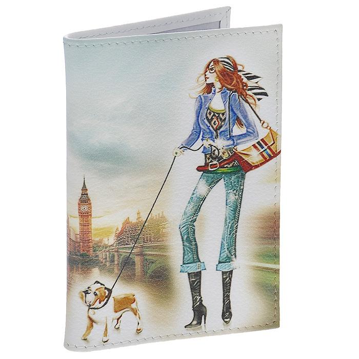 Визитница Perfecto London. VZ-GL-0034VZ-GL-0034Стильная вертикальная визитница London выполнена из натуральной кожи и оформлена изображением девушки, гуляющей с собачкой по Лондону. Внутри содержится блок из прозрачного пластика на 36 визиток. Визитница London - это не только практичная вещь для хранения пластиковых карт, но и модный аксессуар, который понравится каждой девушке.