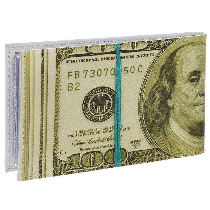 Визитница горизонтальная Perfecto 100$. GVZ-PR-0002GVZ-PR-0002Стильная горизонтальная визитница выполнена из натуральной кожи в виде пачки купюр в 100 долларов. Внутри содержится блок из прозрачного пластика на 36 визиток. Визитница 100$ - это не только практичная вещь для хранения пластиковых карт, но и модный аксессуар, который подчеркнет ваш неповторимый стиль.