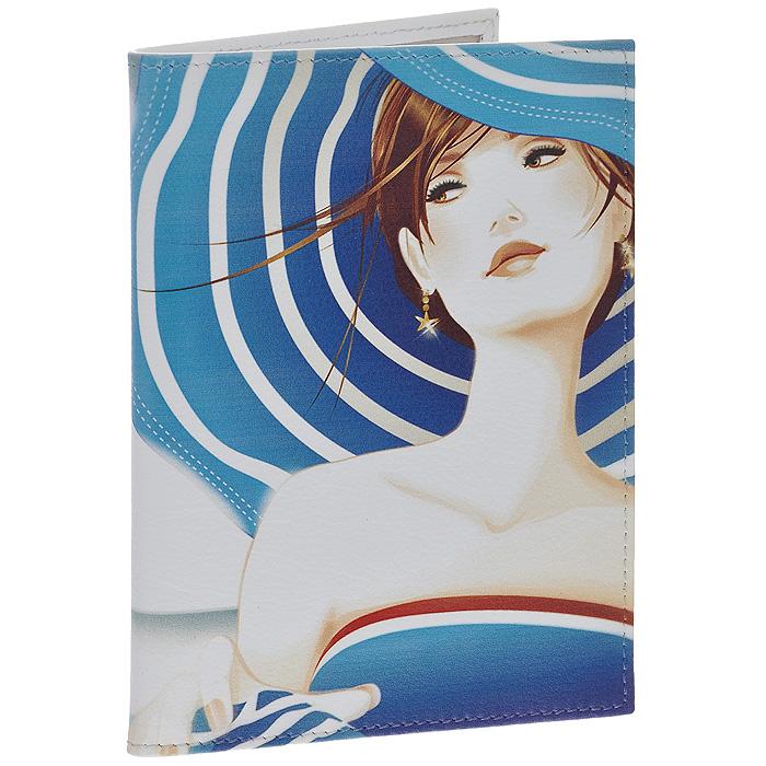 Обложка для автодокументов Perfecto Lady in Blue. VD-GL-45VD-GL-45Обложка для автодокументов Lady in Blue выполнена из натуральной кожи и оформлена изображением девушки в голубой шляпе с широкими полями. Внутри содержится съемный блок из шести прозрачных файлов из мягкого пластика и четыре кармашка для пластиковых карт. Обложка для автодокументов не только поможет сохранить внешний вид ваших документов и защитит их от повреждений, но и станет стильным аксессуаром, идеально подходящим вашему образу.