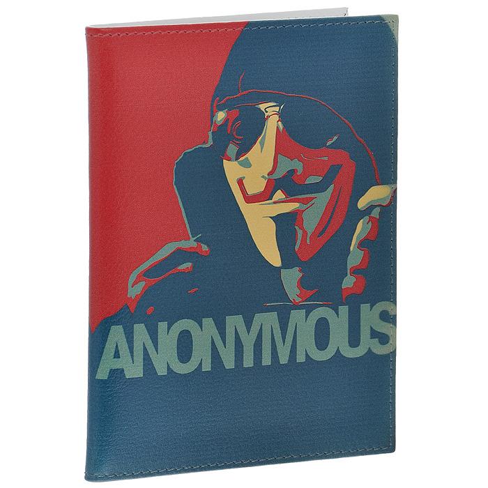 Обложка для паспорта Perfecto Anonymous. PS-PR-0058PS-PR-0058Оригинальная обложка для паспорта Anonymous, выполненная из натуральной кожи, оформлена изображением мужчины в черных очках и капюшоне. На внутреннем развороте - два кармашка из прозрачного пластика. Обложка не только поможет сохранить внешний вид ваших документов и защитит их от повреждений, но и станет стильным аксессуаром, который подчеркнет ваш неповторимый стиль.