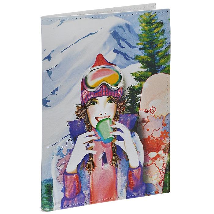 Обложка для паспорта Perfecto Snowbord. PS-GL-0036PS-GL-0036Стильная обложка Snowbord, выполненная из натуральной кожи, оформлена изображением сноубордистки и надписью: Snow! Life! Love!. На внутреннем развороте - два кармашка из прозрачного пластика. Обложка не только поможет сохранить внешний вид ваших документов и защитит их от повреждений, но и станет стильным аксессуаром, который подчеркнет ваш неповторимый стиль.