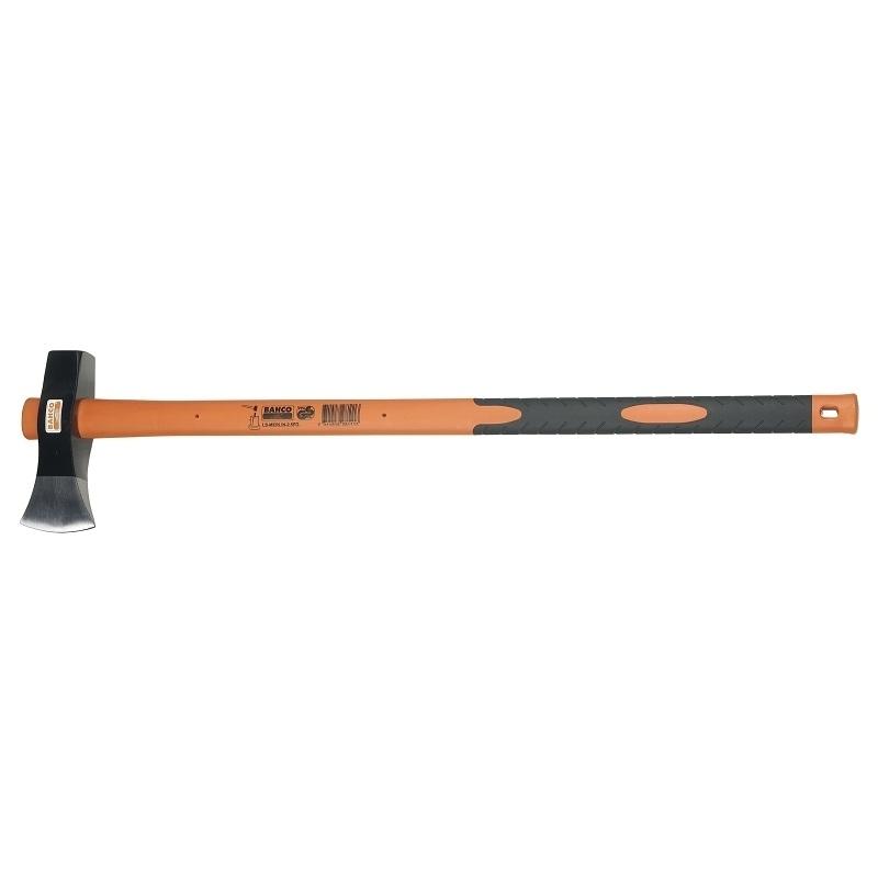 Колун с фиберглассовой рукояткой Bahco, 87 смLS-MERLIN-2.5FGКолун Bahco представляет собой ударный инструмент, предназначенный для работы с древесиной. Прочный боек может использоваться в качестве топора и колуна. Качественная рукоятка изготовлена из ясеня и имеет резиновую накладку. Боек закреплен на черенке с помощью кожаного кольца.