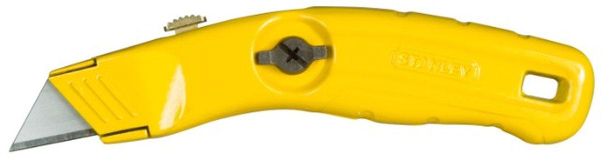 Нож Stanley MPP с выдвижным лезвием0-10-707Нож Stanley MPP с выдвижным лезвием предназначен для резки напольных покрытий и работ с большими нагрузками. Он может использоваться с выдвижными, неотламывающимися типа трапеция, крючок, и пила. Специальный механизм для быстрой разборки и смены лезвий способствует комфортной работе.