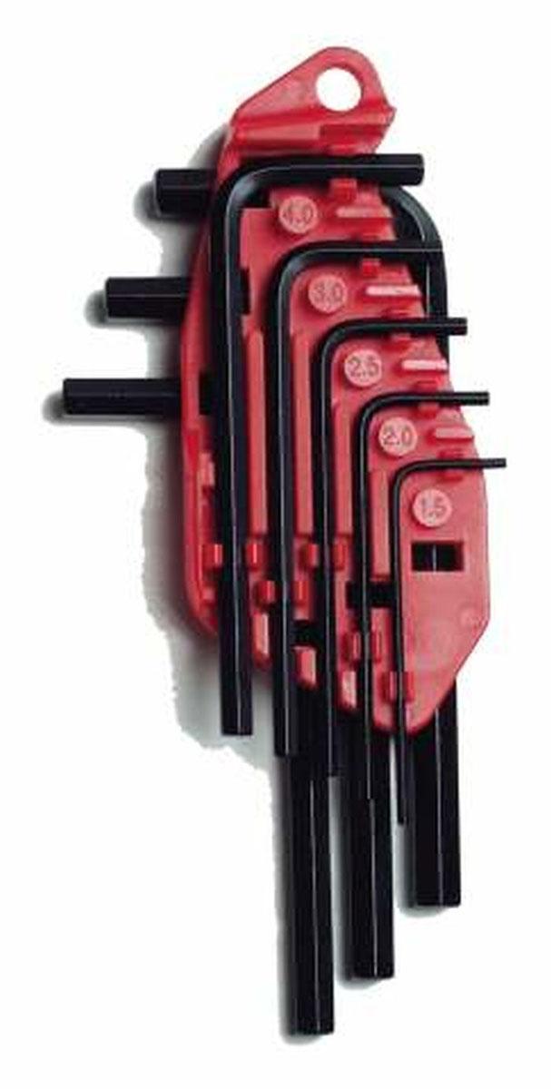 Набор шестигранных ключей Stanley, 1,5-6 мм, 8 шт0-69-251Набор из шестигранных ключей Stanley предназначены для работ с винтами, оснащенными внутренним шестигранным гнездом метрических размеров. В набор входят 8 ключей разных размеров. Набор шестигранных ключей Stanley - незаменимый предмет в Вашем хозяйстве.
