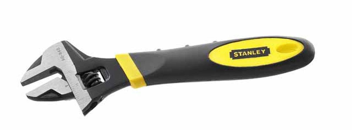 Ключ разводной Stanley MaxSteel, 200 мм, 0-29 мм0-90-948Ключ разводной Stanley предназначен для отвинчивания и завинчивания гаек, болтов, винтов и других резьбовых соединений, при выполнении различных слесарно-монтажных работ. Ключ снабжен мерной шкалой. Имеет удобную нескользящую ручку из термопластмассы.