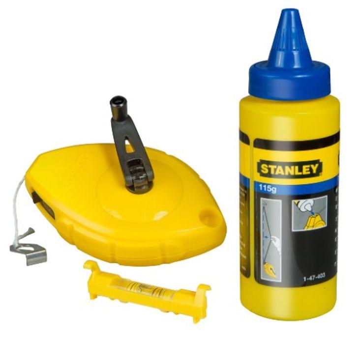 Шнур разметочный Stanley, 30 м + краситель + уровень0-47-443Шнур разметочный предназначен для использования двумя способами: для разметки с помощью мелового порошка и в качестве отвеса. Шнур имеет закрепление крючка на корпусе. Высокопрочный корпус из АБС-пластика для продолжительного срока службы. Откидная рукоятка для сматывания шнура фиксируется в корпусе. Отверстие со сдвижной крышкой для быстрого и простого заполнения мелом.