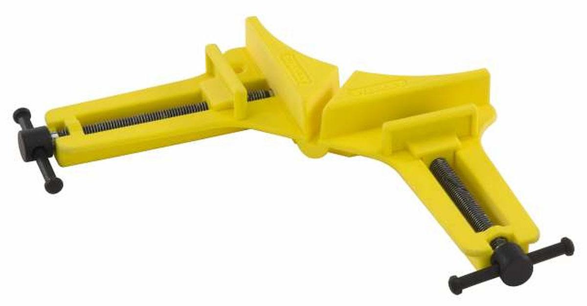 Струбцина угловая Stanley Bailey для небольших нагрузок0-83-121Угловая струбцина Stanley Bailey обладает высокопрочной литой рамой, что гарантирует длительный срок службы. Конструкция данного инструмента позволяет фиксировать под прямым углом детали различной толщины. Данный инструмент применяется при проведении ремонтных, монтажных или отделочных работ.