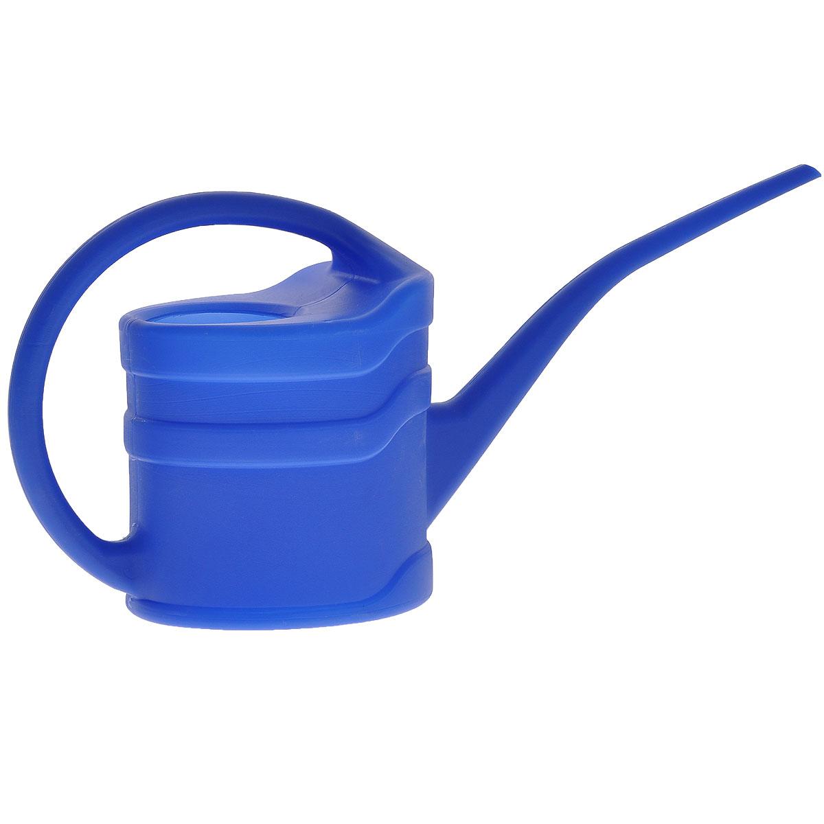 Лейка садовая, цвет: синий, 1,3 л67500Садовая лейка представляет собой компактный инструмент для полива насаждений на приусадебном участке. Лейка обладает легкой конструкцией для продолжительной и комфортной работы. Она пригодится как для работы в саду, там и для полива домашних цветов.