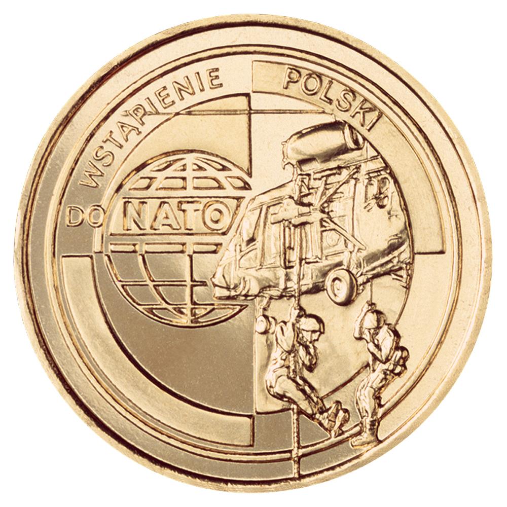 ������ ��������� 2 ������ Wejscie Polski do NATO. ����, ��������, ����, �����. ������, 1999 ���L2070 E������ ��������� 2 ������ Wejscie Polski do NATO. ����, ��������, ����, �����. ������, 1999 ���. ������� 2,2 ��. ����������� UNC (��� ���������).