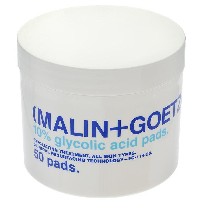 Malin+Goetz Диск-скраб для лица, для очищения кожи, 50 штMG139Уникальное высокоэффективное средство очищает, не вызывает раздражения и успокаивает даже очень чувствительную кожу. Благодаря содержанию гликолевой кислоты высокого качества, диски бережно отшелушивают отмершую кожу, помогая разглаживать морщины, стимулируют выработку коллагена, улучшая тон и текстуру кожи и придавая ей здоровое сияние. Разработано специально для чувствительной кожи. Характеристики: Количество дисков: 50 шт. Производитель: США. Товар сертифицирован.