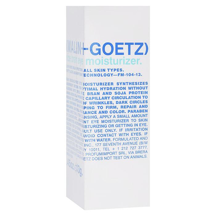 Malin+Goetz Крем для области вокруг глаз Рисовые отруби, увлажняющий, 13 гMG062Увлажняющий крем для области вокруг глаз Malin+Goetz Рисовые отруби не содержит масел и сочетает питательные свойства эфиров рисовых отрубей и протеинов аминокислот сои, оказывая восстанавливающее и длительное увлажняющее действие днем и ночью. Укрепляет кожу, разглаживает морщины, усиливает капиллярное кровообращение, устраняя отечность и темные круги под глазами. Мгновенно впитывается, не растекаясь и не вызывая раздражение глаз, в том числе сверхчувствительных глаз. Подходит для всех типов кожи. Имеет удобную для путешествий и гигиеничную упаковку.
