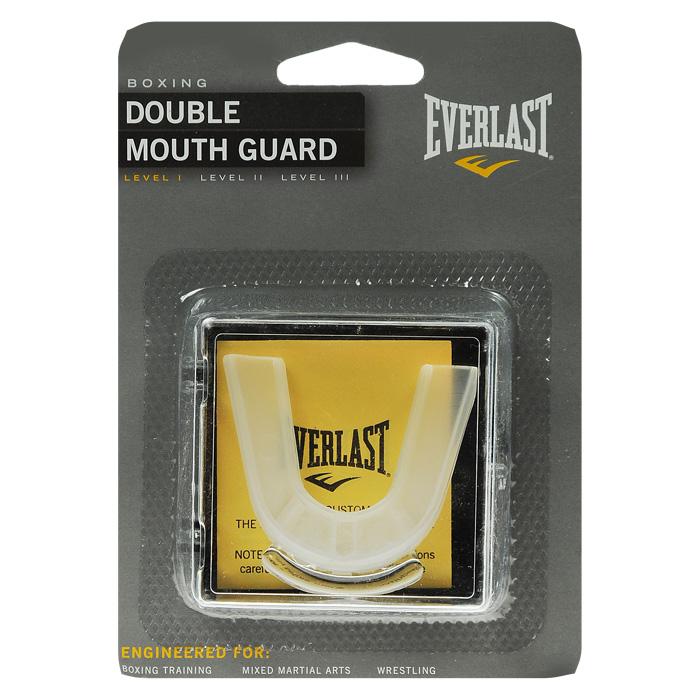 Капа двухчелюстная Everlast4410EКапа Everlast предназначена для защиты зубов во время тренировок и соревнований. Капа изготовлена из мягкого прозрачного силикона. Центральное отверстие позволяет свободно циркулировать воздуху.