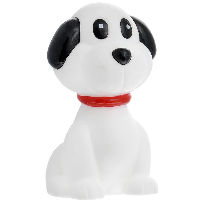 Игрушка для собак Ziver Собачка, с пищалкой, цвет: белый, черный, высота 11,5 см40.ZV.067Игрушка для собак Ziver Собачка изготовлена из винила и латекса с использованием только безопасных, не токсичных красителей. Забавная собачка при надавливании или захвате пастью пищит. Привлечет внимание вашего любимца, позволит весело провести ему время, не навредит здоровью, а также поможет вам сохранить в целости личные вещи и предметы интерьера. Размер: 11,5 см х 7 см х 6,5 см.